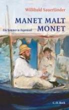Sauerländer, Willibald Manet malt Monet