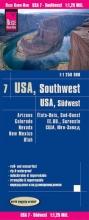 , Reise Know-How Landkarte USA 07, Südwest (1:1.250.000) : Arizona, Colorado, Nevada, Utah, New Mexico