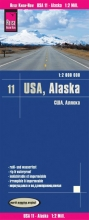 Reise Know-How Verlag Peter Rump, Reise Know-How Landkarte USA 11, Alaska (1 : 2.000.000)