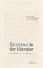 Sentenz in der Literatur