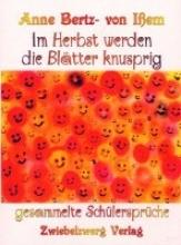 Bertz-von Ißem, Anne Im Herbst werden die Bltter knusprig