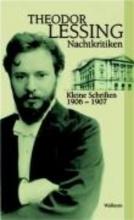 Lessing, Theodor Nachtkritiken