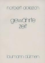 Dolezich, Norbert Gewhrte Zeit