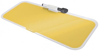 , Glas Desktop Pad Leitz Cosy geel