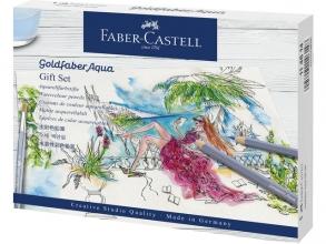 , kleurpotlood Faber-Castell Goldfaber Aqua gift set