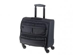 , Business trolley lightpak ronney 600D nylon met             verschillende vakken,