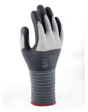 , Handschoen Showa 381 grip nitril S grijs