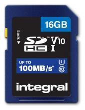 , Geheugenkaart Integral SDHC V10 16GB