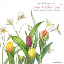 , Botanical Flowers, Anita Walsmit Sachs maandkalender 2022