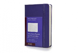 2015 Moleskine Brilliant Violet Pocket Daily Diary 12 Month