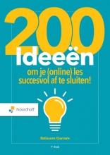 Ibtissem Garram , 200 ideeën om je (online) les succesvol af te sluiten!