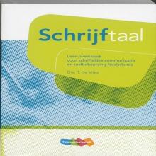 T. de Vries, Schrijftaal leer-/werkboek