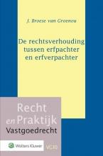 J.  Broese van Groenou De rechtsverhouding tussen erfpachter en erfverpachter