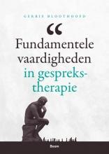 Gerrie Bloothoofd , Fundamentele vaardigheden in gesprekstherapie
