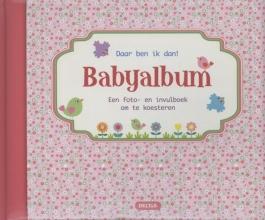ZNU , Daar ben ik dan babyalbum roze