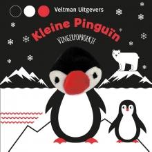 , Vingerpopboekje Kleine Pinguïn