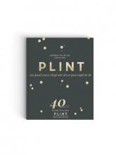 , Plint Jubileumboek 40 jaar Plint