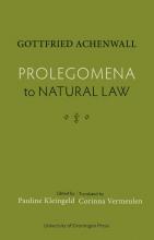 Pauline Kleingeld Gottfried Achenwall, Prolegomena to Natural Law