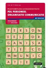D.R. in `t Veld , PDL Personeel Organisatie Communicatie 2021-2022 Opgavenboek