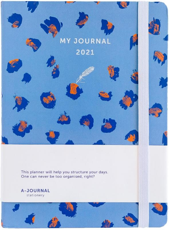 ,My Journal Agenda 2021 - Lavendel Luipaard