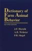 Hurnik, J. F.,Dictionary of Farm Animal Behavior