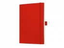,notitieboek Sigel Conceptum softcover A5 rood geruit