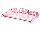 ,buro-organizer HAN i-Step transparant fel rose