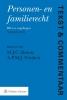 ,<b>Tekst & Commentaar Personen- en Familierecht druk 9</b>