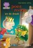 Marianne  Witte,Leren lezen met Kluitman Poes Moos en de draak