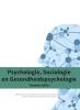 Naomi  Castelein, Paul  Riha, Edwin  Hagenbeek,Psychologie, sociologie en gezondheidspsychologie