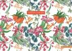 ZNU ,Weekplanner - Tropical Flowers
