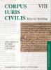 <b>Corpus Iuris Civilis VIII; Codex Justinianus 4 - 8 VIII Codex Justinianus iv-viii</b>,tekst en Vertaling