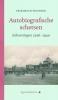 Friedrich  Weinreb, ,Autobiografische schetsen