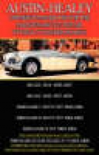 F Clymer Austin-Healey Owner`s Handbook for the Maintenance & Repair of the 6-Cylinder Models 1956-1968