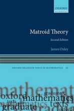 James G. Oxley Matroid Theory