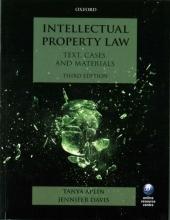 Aplin, Tanya Intellectual Property Law