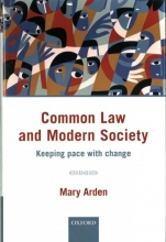 Arden, Mary Common Law and Modern Society