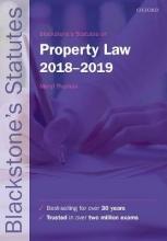 Thomas, Meryl Blackstone`s Statutes on Property Law 2018-2019