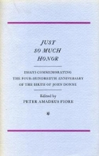 Peter Amadeus Fiore Just So Much Honor