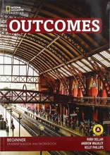 Dellar, Hugh,   Walkley, Andrew Outcomes - Second Edition A0/A1.1: Beginner - Student`s Book and Workbook (Combo Split Edition A) + Audio-CD + DVD-ROM