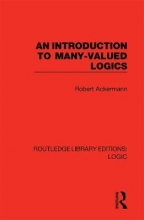 Robert Ackermann An Introduction to Many-valued Logics