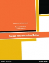 Feldman, Richard Reason and Argument: Pearson New International Edition