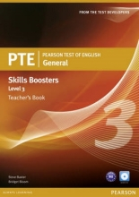 Baxter, Steve Pearson Test of English General Skills Booster 3 Teacher`s Book and CD Pack
