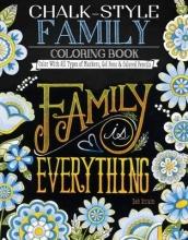 Deb Strain Chalk-Style Family Coloring Book