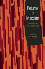 Sara R. Farris Returns Of Marxism