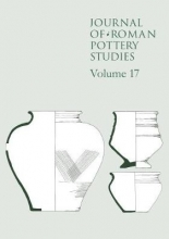 Wallis, Steven Journal of Roman Pottery Studies Volume 17