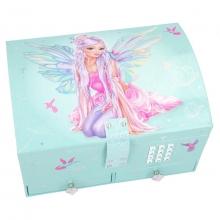 , Fantasymodel sieradendoos met code en geluid fairy