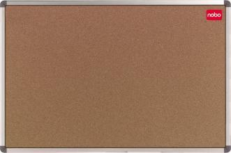 , Prikbord Nobo 90x60cm  kurk retailverpakking