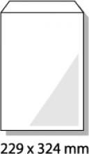 , bordrugenvelop Raadhuis 229x324mm C4 wit met plakstrip doos a 100 stuks