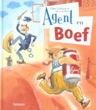 Tjibbe Veldkamp , Agent en Boef
